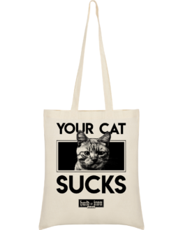 Your cat sucks