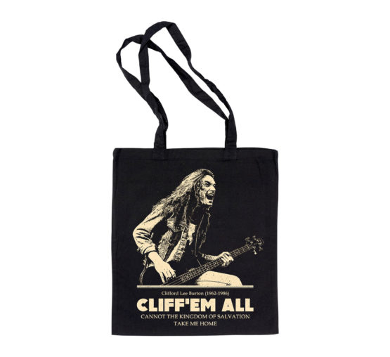 Cliff Burton tribute - Totebag